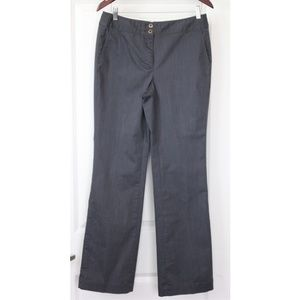 Brooks Brothers Women's Dress Pants Size 8 Gray Tr